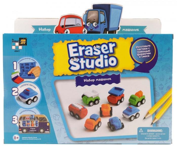 Купить Наборы для творчества, Diamant Toys Набор для изготовления ластиков Машинки