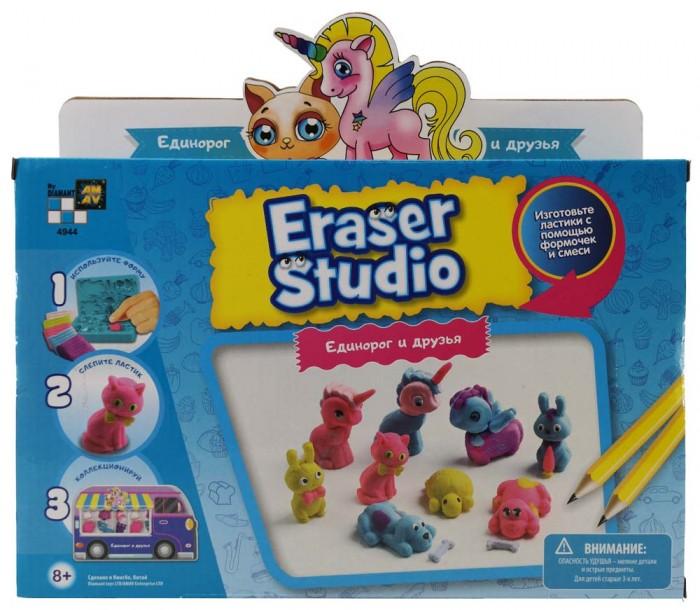 Купить Наборы для творчества, Diamant Toys Набор для изготовления ластиков Eдинорог и друзья