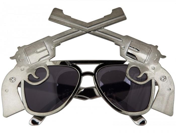 Товары для праздника Поиск Очки Револьверы