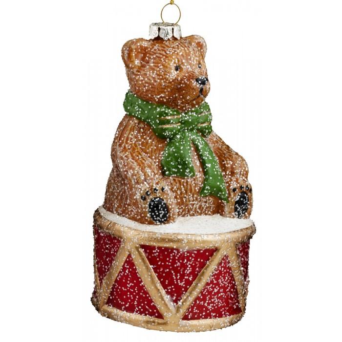Купить Erich Krause Украшение Decor Мишка на барабане 11.5 см в интернет магазине. Цены, фото, описания, характеристики, отзывы, обзоры