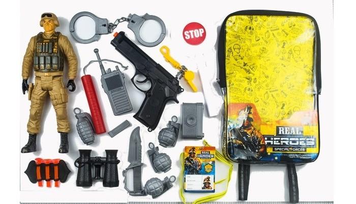 Игровые наборы Junfa Набор военный в рюкзачке