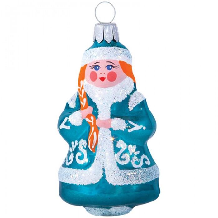 Елочные игрушки Елочка Елочное украшение стеклянное Снегурка-1 7.2 см автомобильное украшение other brands page 1