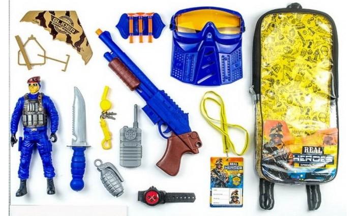 Игровые наборы Junfa Набор военный в рюкзачке 88786