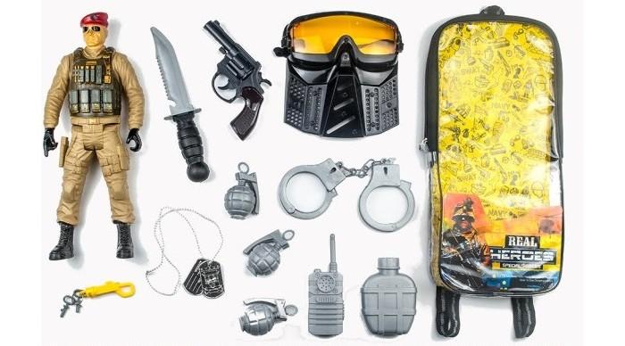 Фото - Игровые наборы Junfa Набор военный в рюкзачке 88787 набор солдата для взрослых