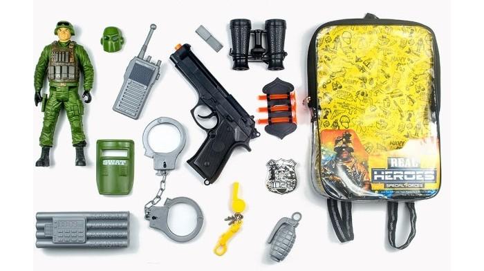 Игровые наборы Junfa Набор военный в рюкзачке 88792