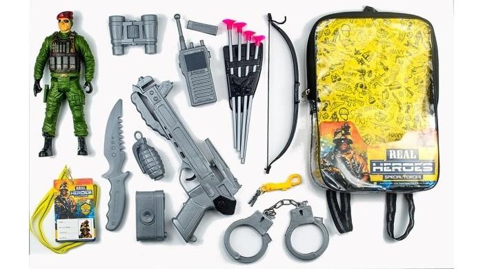 Игровые наборы Junfa Набор военный в рюкзачке 88788
