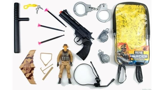 Фото - Игровые наборы Junfa Набор военный в рюкзачке 88797 набор солдата для взрослых