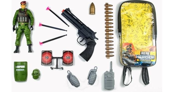 Игровые наборы Junfa Набор военный в рюкзачке 88796