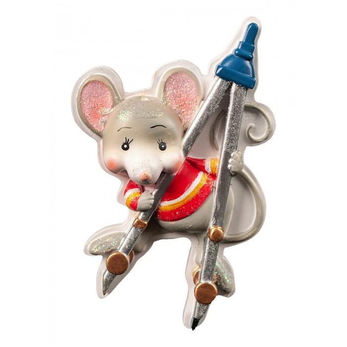 Купить Erich Krause Сувенир Decor Мышонок и циркуль на магните 7 см в интернет магазине. Цены, фото, описания, характеристики, отзывы, обзоры