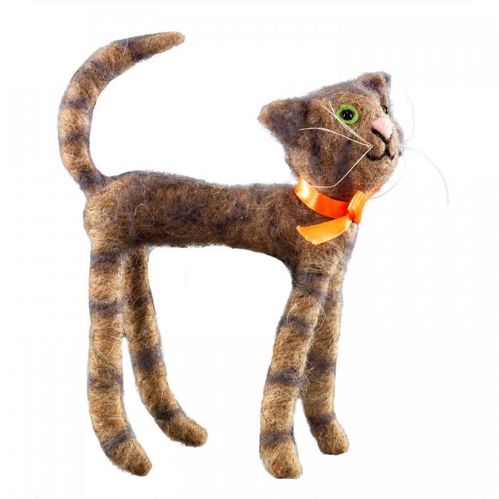 Фото - Мягкие игрушки Erich Krause Кот-гуляка 20 см мягкие игрушки molli кот серый 20 см