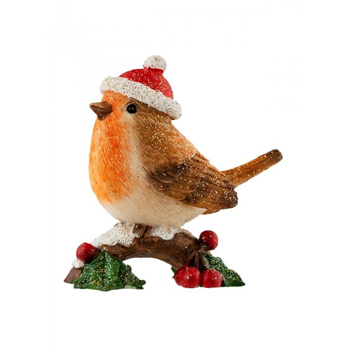 Фото - Новогодние украшения Erich Krause Сувенир Decor Птичка на ветке 6.5 см декор птичка на ветке гласар декор птичка на ветке