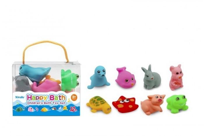 Игрушки для ванны Junfa Набор для купания Животные игрушки для ванны капитошка набор для купания морские животные