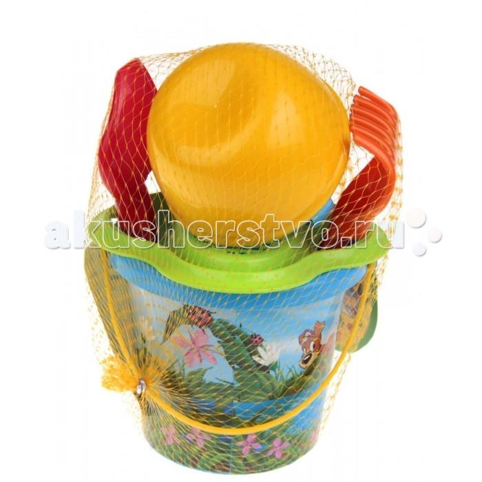 Игрушки для зимы Полесье Набор для игры с песком № 210 игрушки для зимы полесье набор для песочницы 565