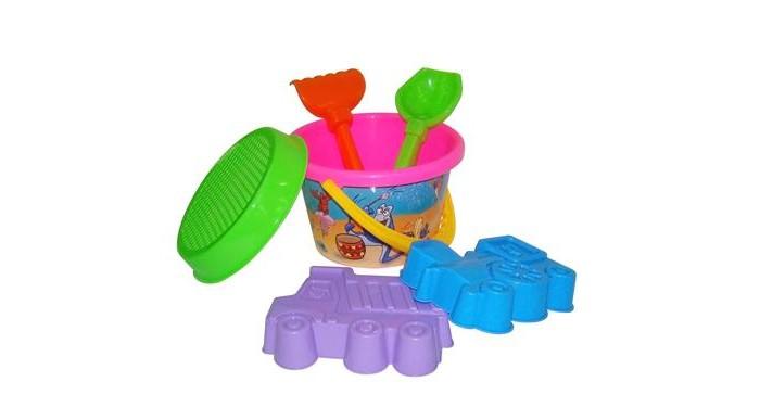 Игрушки для зимы Полесье Набор для игры с песком № 252 игрушки для зимы полесье набор для песочницы 565