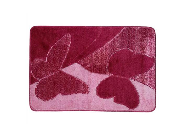 Купить Banyolin Classic Collor Коврик для ванной комнаты Бабочки 55х90 см в интернет магазине. Цены, фото, описания, характеристики, отзывы, обзоры