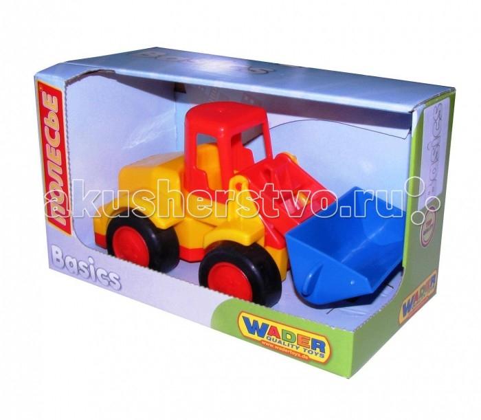 Машины Wader Погрузчик Базик машины wader базик автомобиль пожарный