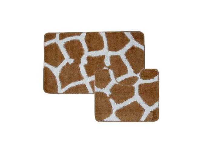 Купить Banyolin Classic Collor Коврик для ванной комнаты Жираф 60х100/50х60 см 2 шт. в интернет магазине. Цены, фото, описания, характеристики, отзывы, обзоры