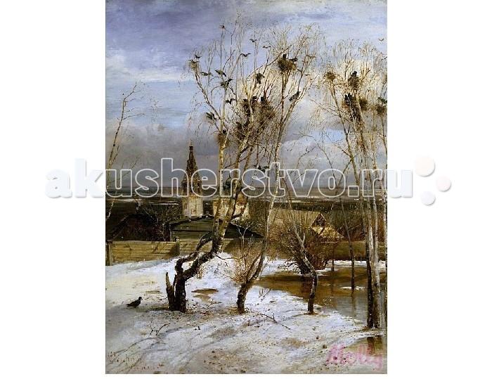 Картины по номерам Molly Картина по номерам Грачи прилетели 40х50 см molly мозаичная картина зеленая долина 40х50 см