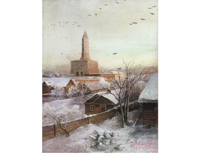 Картины по номерам Molly Картина по номерам Сухарева башня 40х50 см molly мозаичная картина зеленая долина 40х50 см