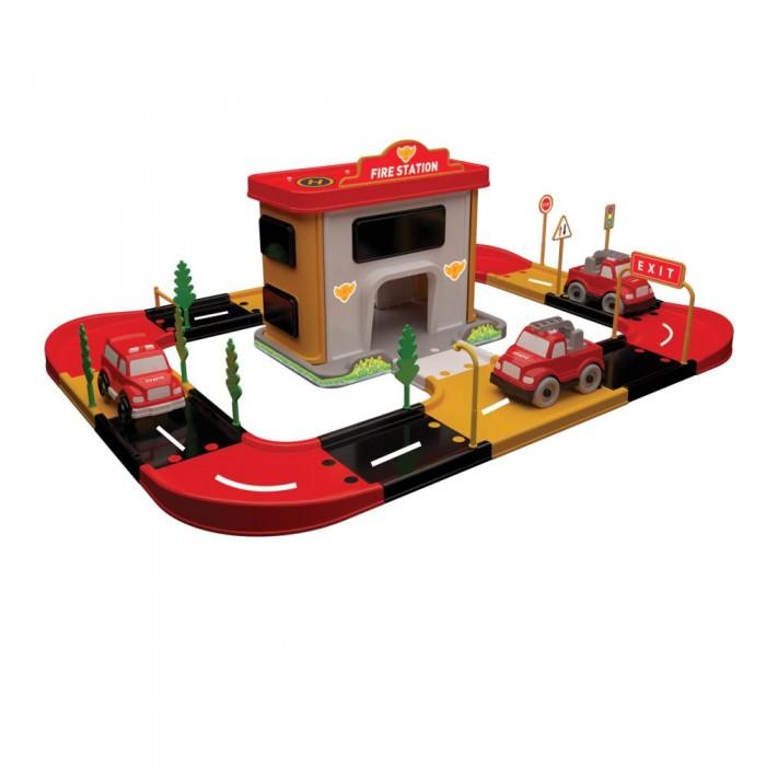 Игровые наборы Terides Игровой набор Пожарная станция Т2-069 игровой набор hasbro город пожарная станция b3415