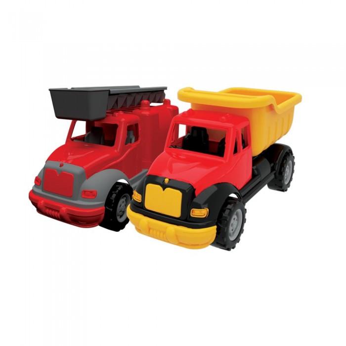 Машины Terides Набор Грузовик и Пожарная машина