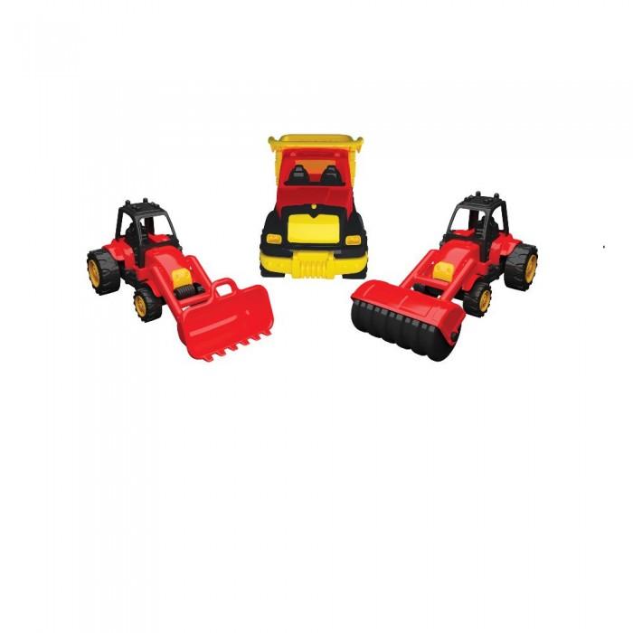 Машины Terides Набор из 3-х машин для укладки асфальта Т8-013