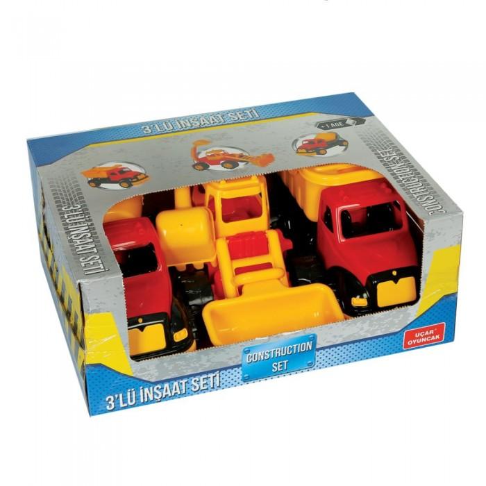 Машины Terides Набор из 3-х строительных машин Т8-106