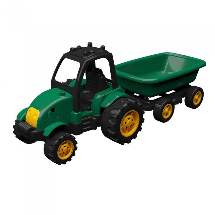 трактор с прицепом игрушка efko трактор с прицепом игрушка Машины Terides Трактор с прицепом 50 см