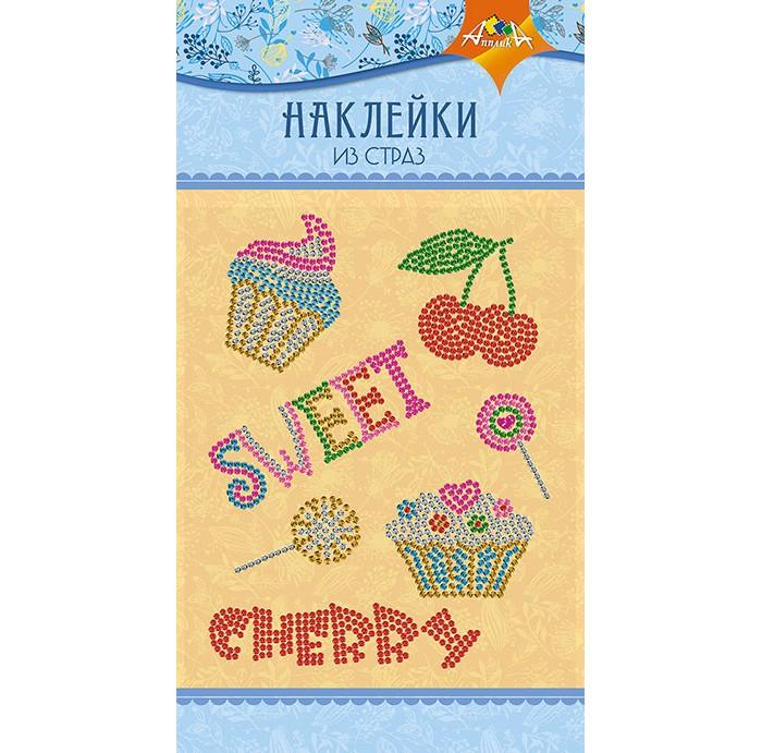 Наборы для творчества Апплика Материалы для творчества Наклейки из страз Cherry