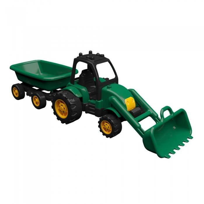 Машины Terides Трактор с прицепом и ковшом 60 см