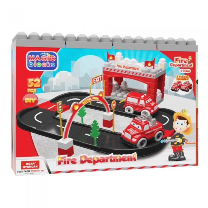 Игровые наборы Terides Игровой набор Пожарная станция 52 предмета игровой набор hasbro город пожарная станция b3415