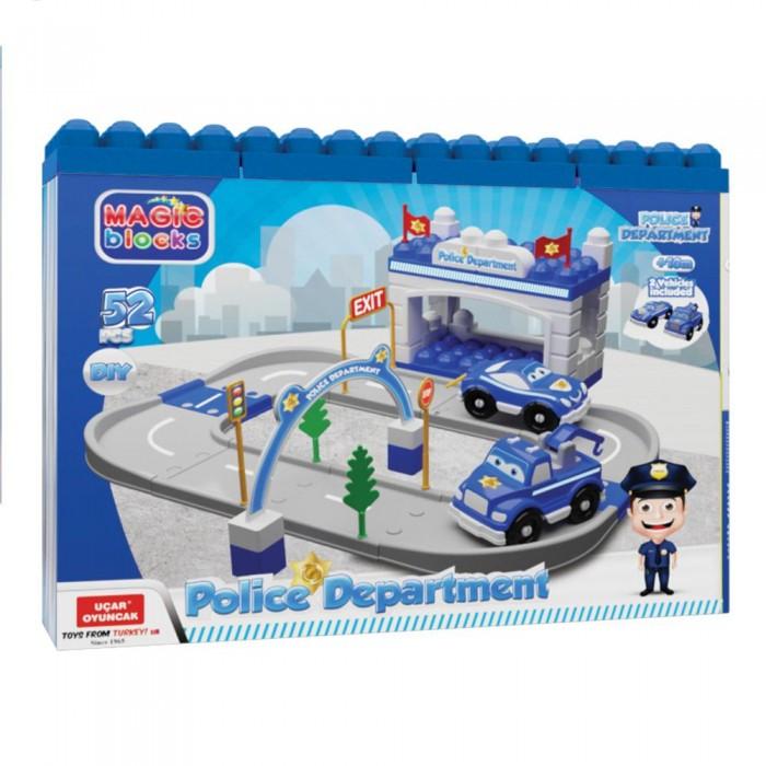 Игровые наборы Terides Игровой набор Полицейский участок 52 предмета