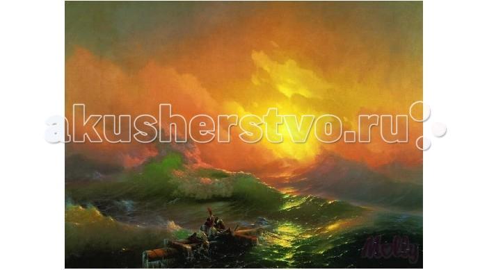 Картины по номерам Molly Картина по номерам Девятый вал 40х50 см molly мозаичная картина зеленая долина 40х50 см