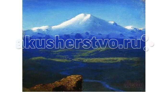Картины по номерам Molly Картина по номерам Снежные вершины 40х50 см molly мозаичная картина зеленая долина 40х50 см