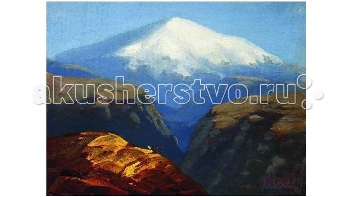 Картины по номерам Molly Картина по номерам Эльбрус днем 40х50 см molly мозаичная картина зеленая долина 40х50 см