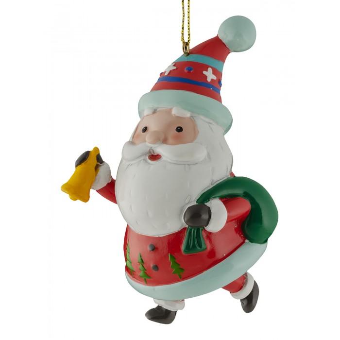Erich Krause Decor Украшение Санта глазурный 9 см