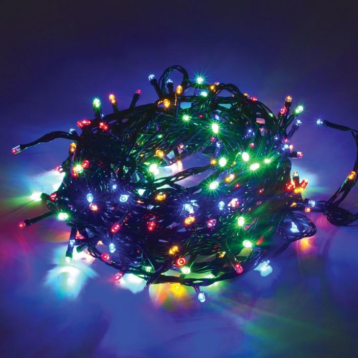 Картинка для Новогодние украшения Золотая сказка Электрогирлянда светодиодная Стандарт 200 ламп 10 м