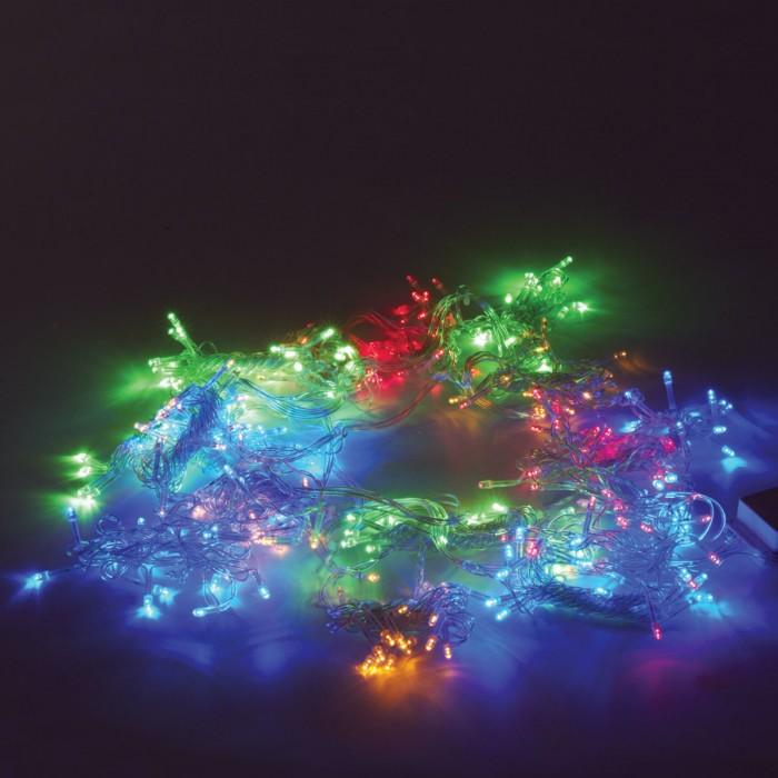 Картинка для Новогодние украшения Золотая сказка Электрогирлянда светодиодная Занавес 304 лампы 2х2 м