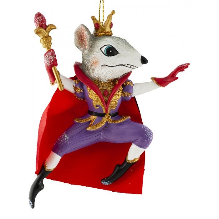 Елочные игрушки Erich Krause Decor Ёлочная игрушка Мышиный Король 11.5 см
