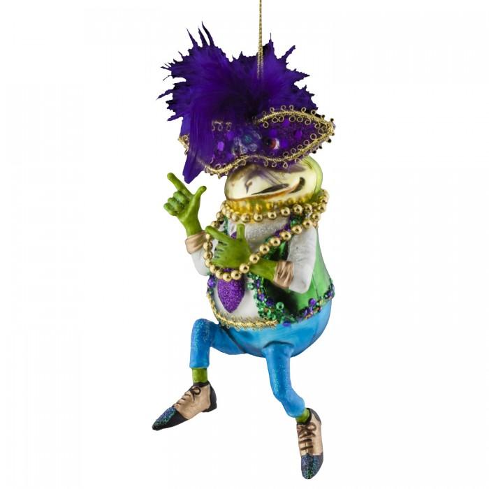 Erich Krause Decor Украшение Лягушка на карнавале 17 см 45789