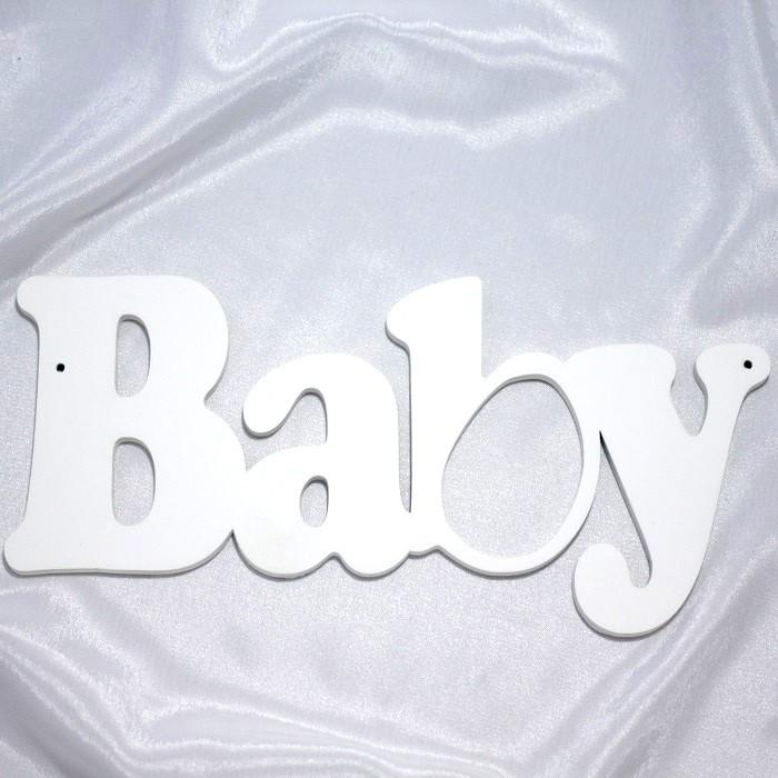 Декорирование Suvenirrus Декоративное слово Baby №2 сувениры