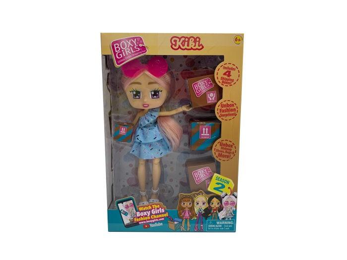 Купить Куклы и одежда для кукол, 1 Toy Кукла Boxy Girls Kiki с аксессуарами 20 см