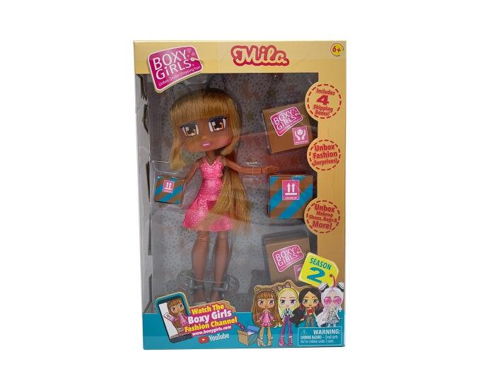 Купить Куклы и одежда для кукол, 1 Toy Кукла Boxy Girls Mila с аксессуарами 20 см