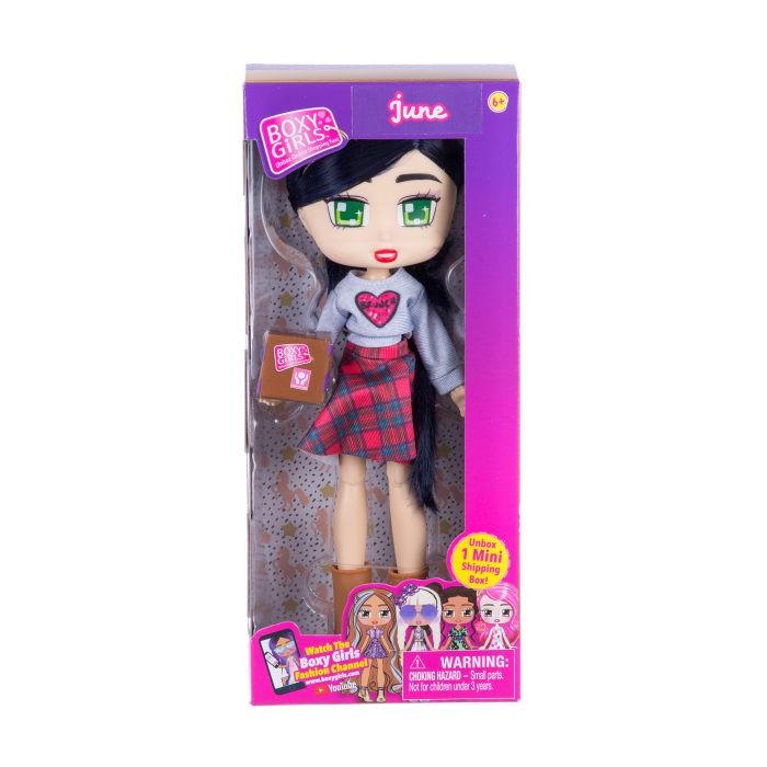 Куклы и одежда для кукол 1 Toy Кукла Boxy Girls June с аксессуаром 20 см