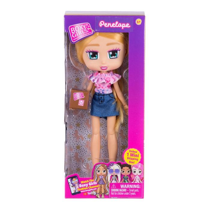 Куклы и одежда для кукол 1 Toy Кукла Boxy Girls Penelope с аксессуаром 20 см