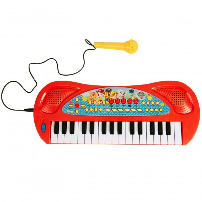 Музыкальный инструмент Щенячий патруль (Paw Patrol) Синтезатор с микрофоном