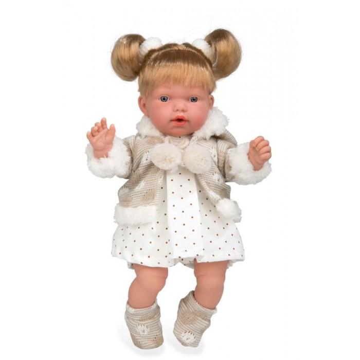 Купить Куклы и одежда для кукол, Arias Elegance Кукла с мягким телом 28 см в платьице в горошек