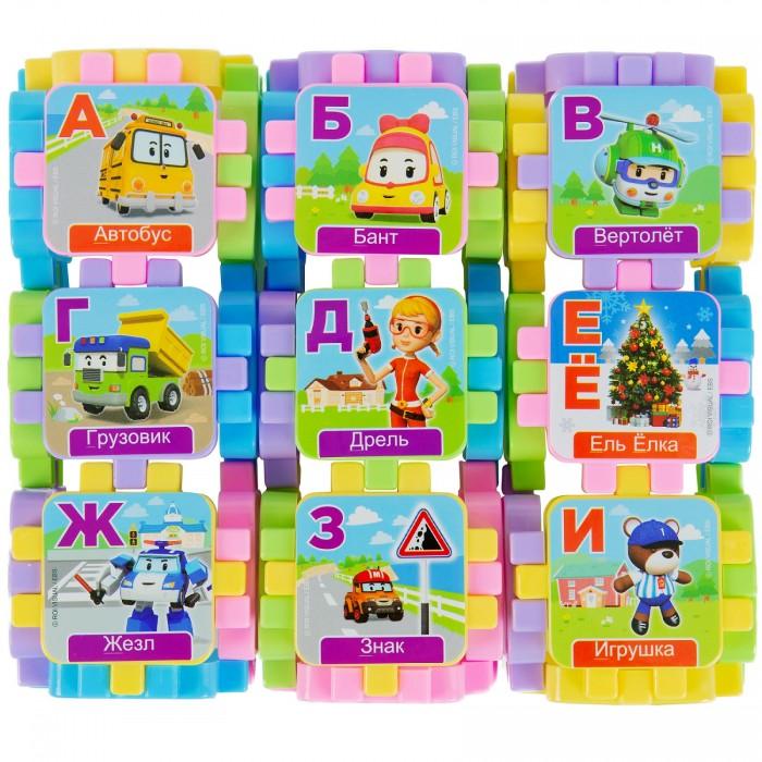 Картинка для Развивающие игрушки Робокар Поли (Robocar Poli) Кубики-азбука