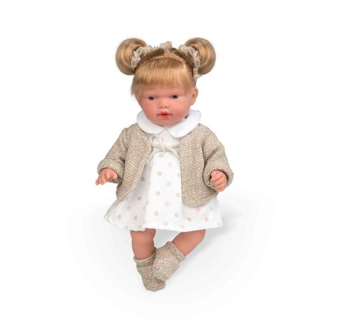Arias Elegance Кукла с мягким телом 28 см в платьице фото