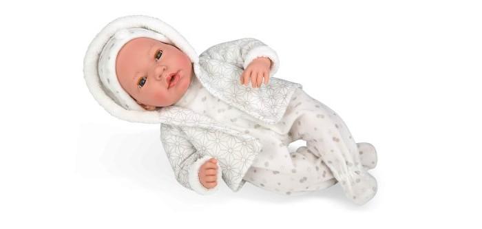 Купить Куклы и одежда для кукол, Arias Elegance Пупс 38 см в серой одежде